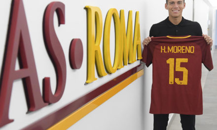 Héctor Moreno debuta con la Roma y destaca entre los mexicanos en Europa