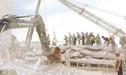 Juntan fondos para la reconstrucción tras sismos