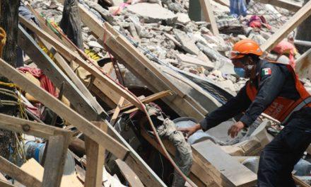 Sube a 355 número de fallecidos por sismo del 19 de septiembre