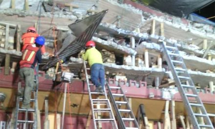 Número de decesos tras sismo llega a 293