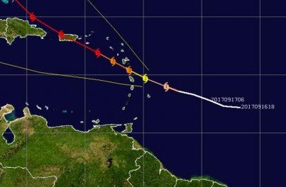 Huracán María se fortalece a categoría 3 rumbo a las Islas del Caribe