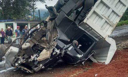 Accidente en la Xalapa- Naolinco