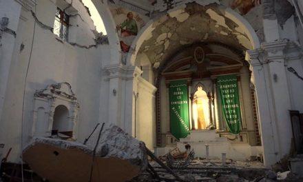 El bautizo en Puebla que el sismo lo convirtió en velorio