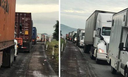 Reportan tránsito muy lento en autopista Veracruz-Córdoba
