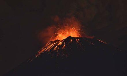 El Popocatépetl registra intensa actividad