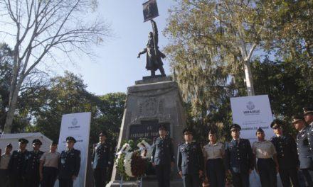 Guardia de honor de la 26/a. Zona Militar