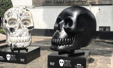 Cráneos gigantes invadirán Paseo de la Reforma en la Ciudad de México