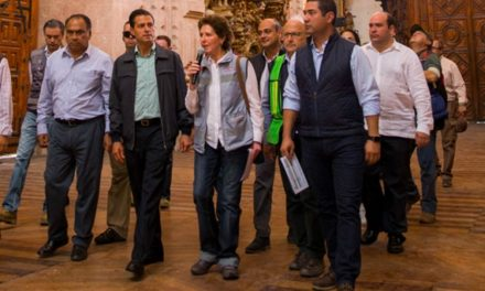 Se preservará el patrimonio cultural dañado por los sismos Peña Nieto