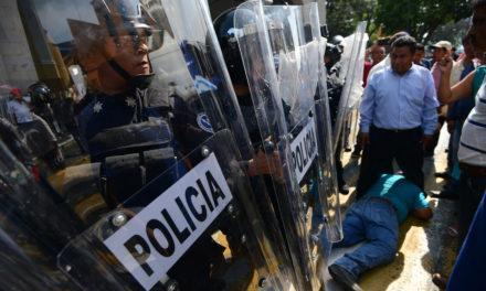 Piden diputados que se investigue y sancione a policías estatales que se hayan extralimitado en el uso de la fuerza