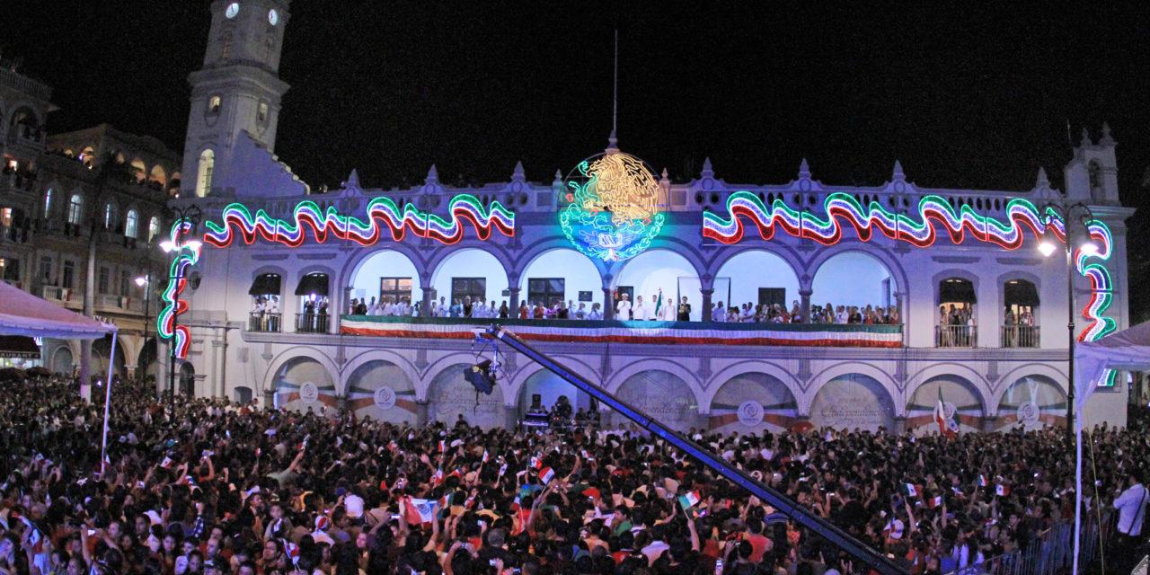 Grito de Independencia en Veracruz se transmitirá por medios electrónicos