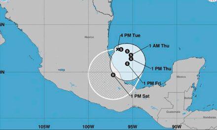 Veracruz, en alerta amarilla ante depresión tropical 13