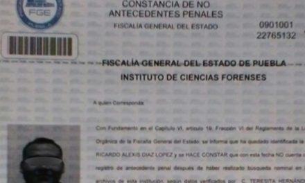Muestra Cabify carta de no antecedentes penales de presunto asesino de Mara