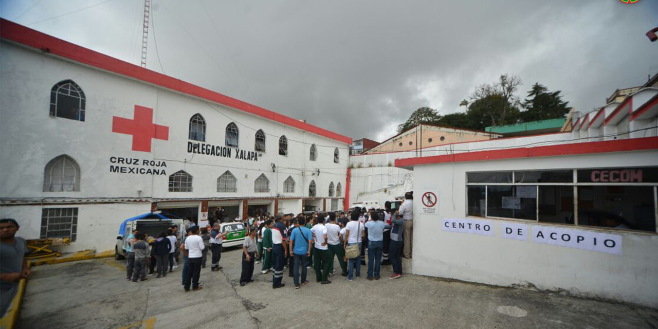 Galería: Cruz Roja Mexicana, centro de acopio para víctimas del sismo