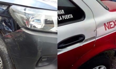 Taxista denuncia injusticia; lo choca patrulla de Orizaba y corporación se niega a pagar