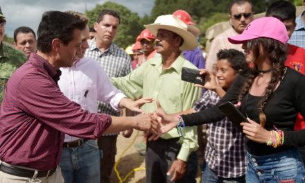 Peña Nieto condena actos que obstruyen labores de apoyo a damnificados