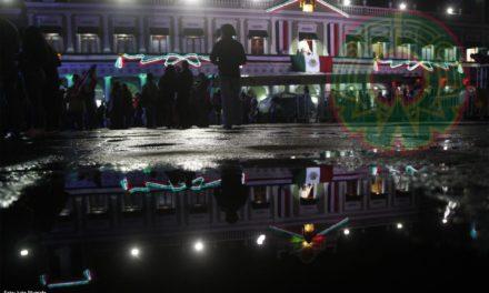 Al momento, poca afluencia en el centro histórico de Xalapa para celebrar el Grito