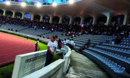 A media hora de la clausura del #SoyFestival, estadio xalapeño luce vacío