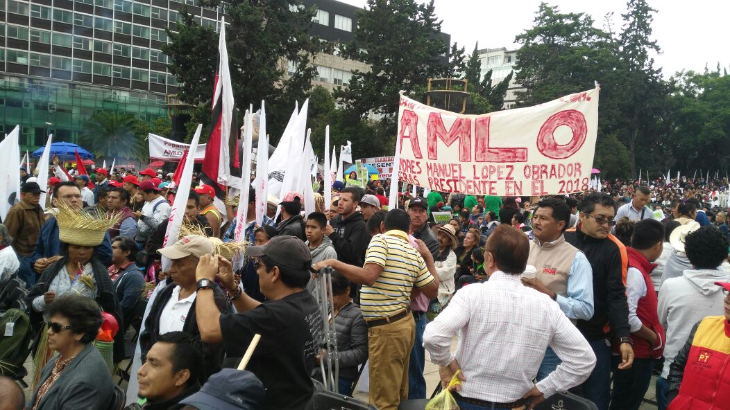 Se lleva a cabo firma de Acuerdo de Unidad Nacional de Morena en CDMX