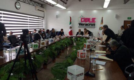 Proceso electoral en Veracruz iniciará el próximo 1 de noviembre