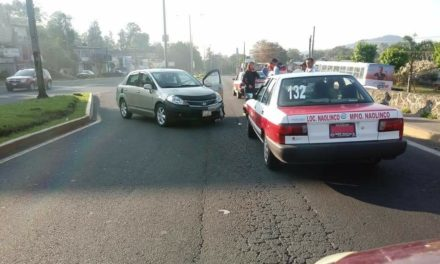 Accidente vial en boulevard Banderilla