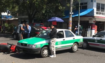 Accidente en Avenida Martes 28 de Agosto