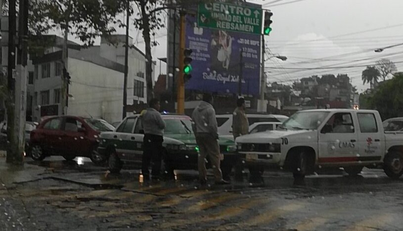 Accidente de tránsito sobre Av. Murillo Vidal