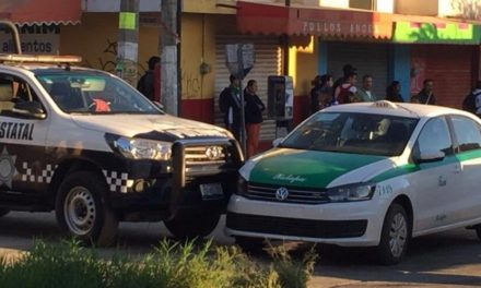 Accidente de tránsito sobre calle Camino Antiguo a Naolinco
