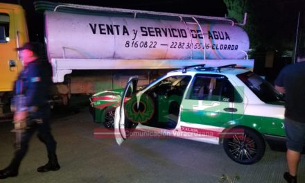23:00hrs: Accidente en la carretera Xalapa-Coatepec, a la altura de la Florida