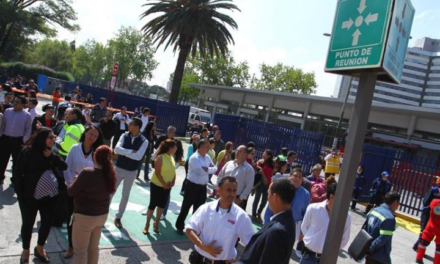 Hoy a las 11:00 h se activará la #AlertaSísmica como parte del primer Macro Simulacro del año; la alerta se escuchará en algunas estaciones de radio y tv y en altavoces de la Ciudad de México.