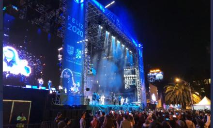 180 mil personas despidieron el 2019 en evento de la CDMX