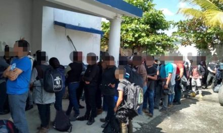 Rescata SSP a 117 migrantes e interviene a cinco por presunto tráfico de personas
