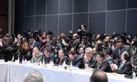 Veracruz suscribe acuerdo de CONAGO para fortalecer estrategia nacional de seguridad