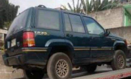 Rescata SSP a menor desaparecida, recupera vehículos y detiene a 9 por diversos delitos