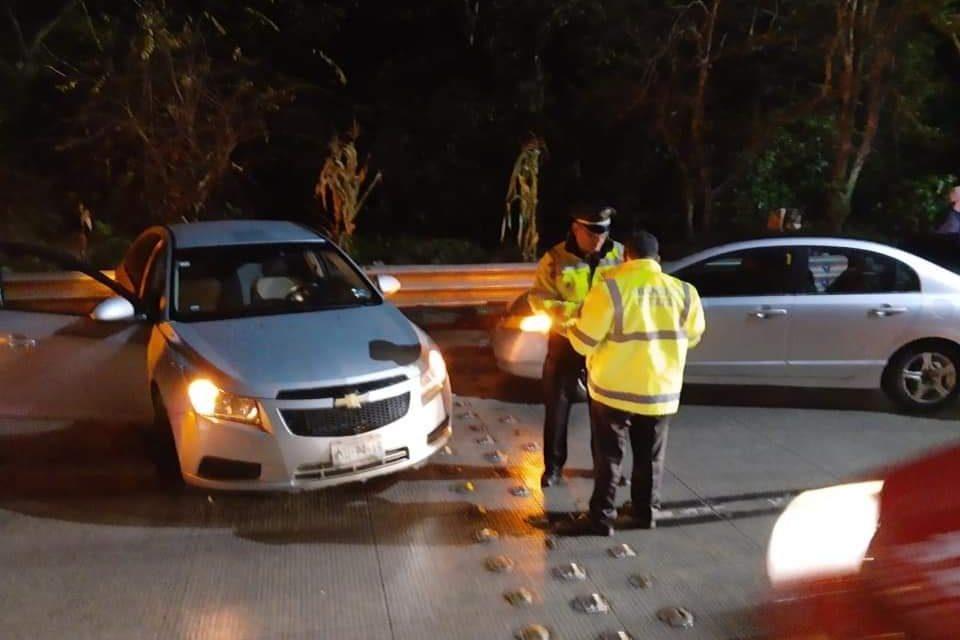 Este sábado, se registraron  2 accidentes en la carretera Xalapa-Coatepec