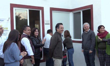 Voluntad y compromiso del Ejecutivo, al entregar viviendas a familias en Chiltoyac