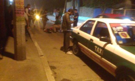 Persona atropellada en calle Popocatépetl de la Colonia Higueras