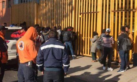 Toma de la Prepa 9 de la UNAM cumple 55 días