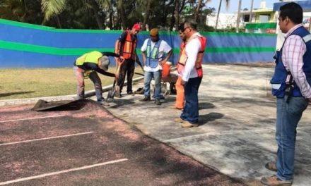 Inician los trabajos de remodelación de la pista atlética en la Facultad de Educación Física UV