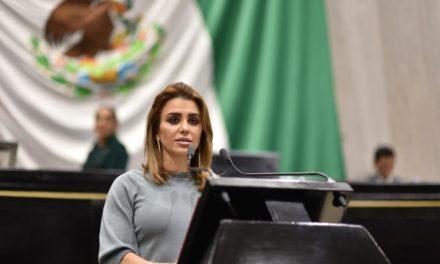 Pide diputada Andrea Yunes acciones estatales contra el cambio climático