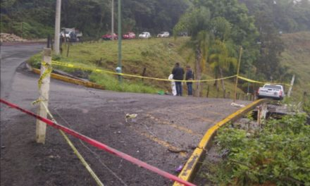 Hallan restos humanos en bolsas negras en la entrada del Cerro de Guadalupe de Huatusco