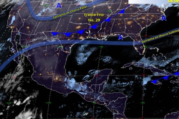 Clima en México: 12 estados registrarán temperaturas de -5 grados