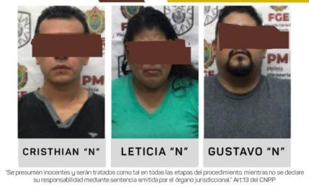 Cumplimenta UECS tres órdenes de aprehensión por secuestro en Xalapa.