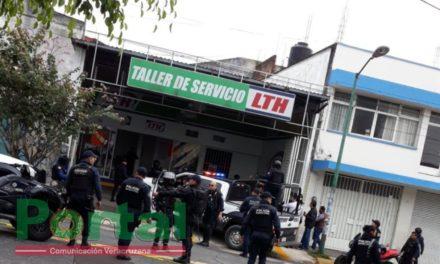 Persona lesionada por arma de fuego en la avenida 20 de Noviembre, a la altura del Autozone