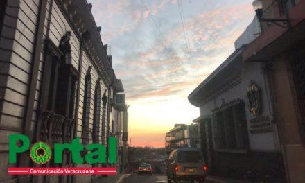 Xalapa amanece con nubosidad dispersa y temperatura mínima de 13.2°C, previéndo máxima de 23 a 25°C y probable aumento de nublados con algunas nieblas por la tarde-noche