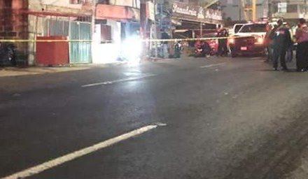 Persona ejecutada en la carretera Xalapa – Veracruz, a la altura de Las Trancas