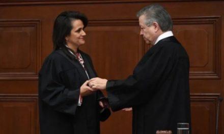 Margarita Ríos-Farjat asume como ministra de la SCJN