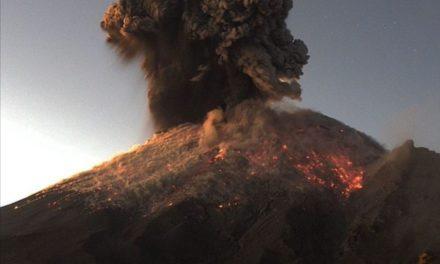 No hay riesgo por actividad de volcán Popocatépetl: AMLO