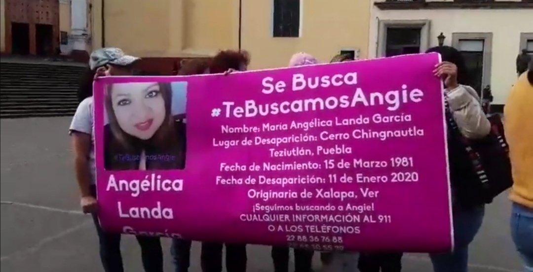 Familiares y amigos piden apoyo para localizar a María Angelica Landa García