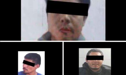 En Tihuatlán, SSP localiza toma clandestina; detiene a 3 sujetos por otros delitos