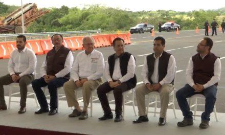 Hoy se pone en operación el tramo Naranjos – Ozuluama, de la autopista que comunica Tuxpan con Tampico, que servirá para movilizar productos y atraer visitantes.